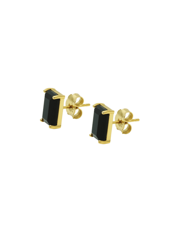 My kind of stud! | Earrings | dark mystery gold