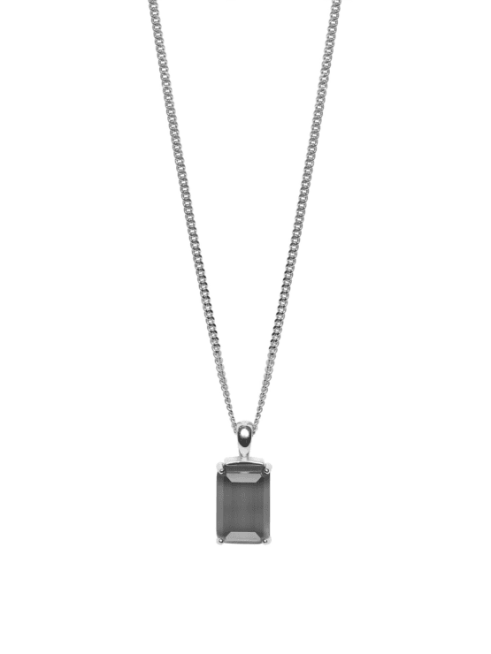 Be Dazzled! | Necklace | Gracy gray silver