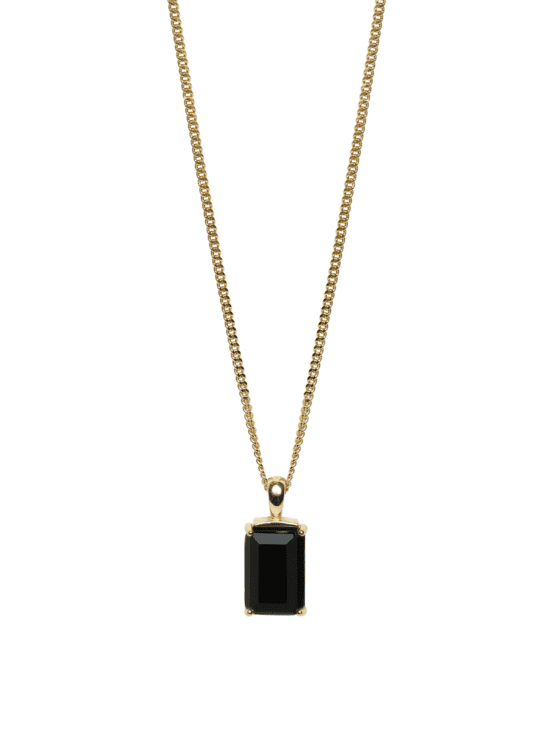 Be Dazzled! | Necklace | Dark mystery gold